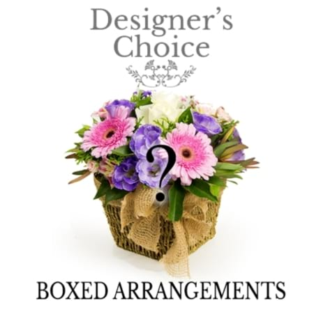 Florist choise box arrangement